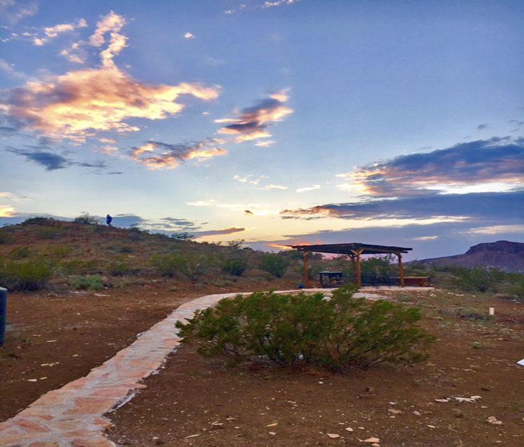 Ramada at Sunset