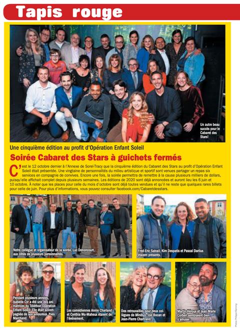 Le Cabaret des Stars 5e édition