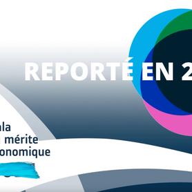 REPORT DE LA 35E SOIRÉE DU GALA DU MÉRITE ÉCONOMIQUE