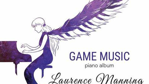 Game Music piano Album - Signed CD and thank you card