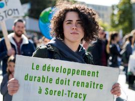 Le développement durable renaîtra à Sorel-Tracy