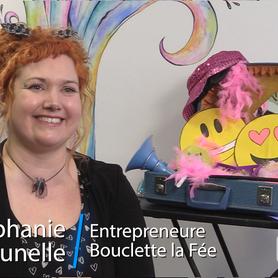 Stéphanie Brunelle (alias Bouclette) a le vent dans les voiles!