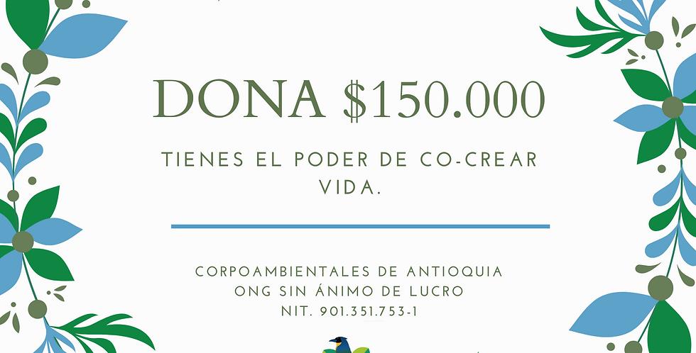 Dona $150.000