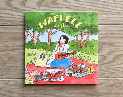 Waffles「WAFLELE」 ジャケットアート