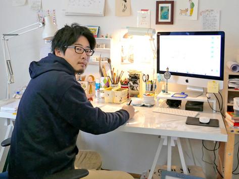 【取材】イラストレーターの魅力と本質。様々な媒体で活躍する本田亮さんインタビュー