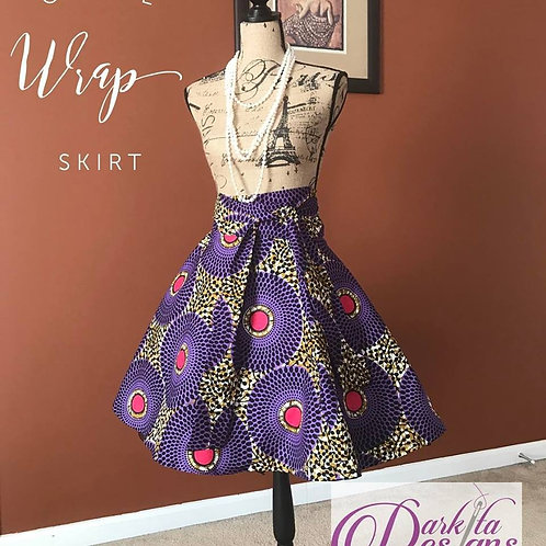 Fashionista Wrap Midi Skirt