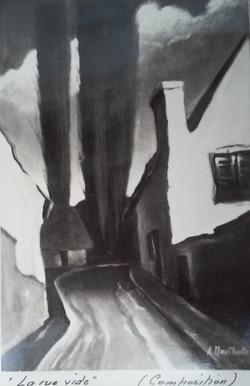 La rue vide
