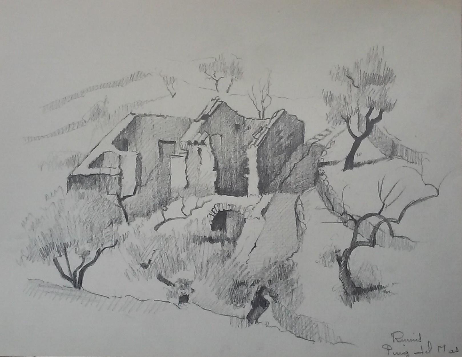 Ruines, Puig-del-Mas