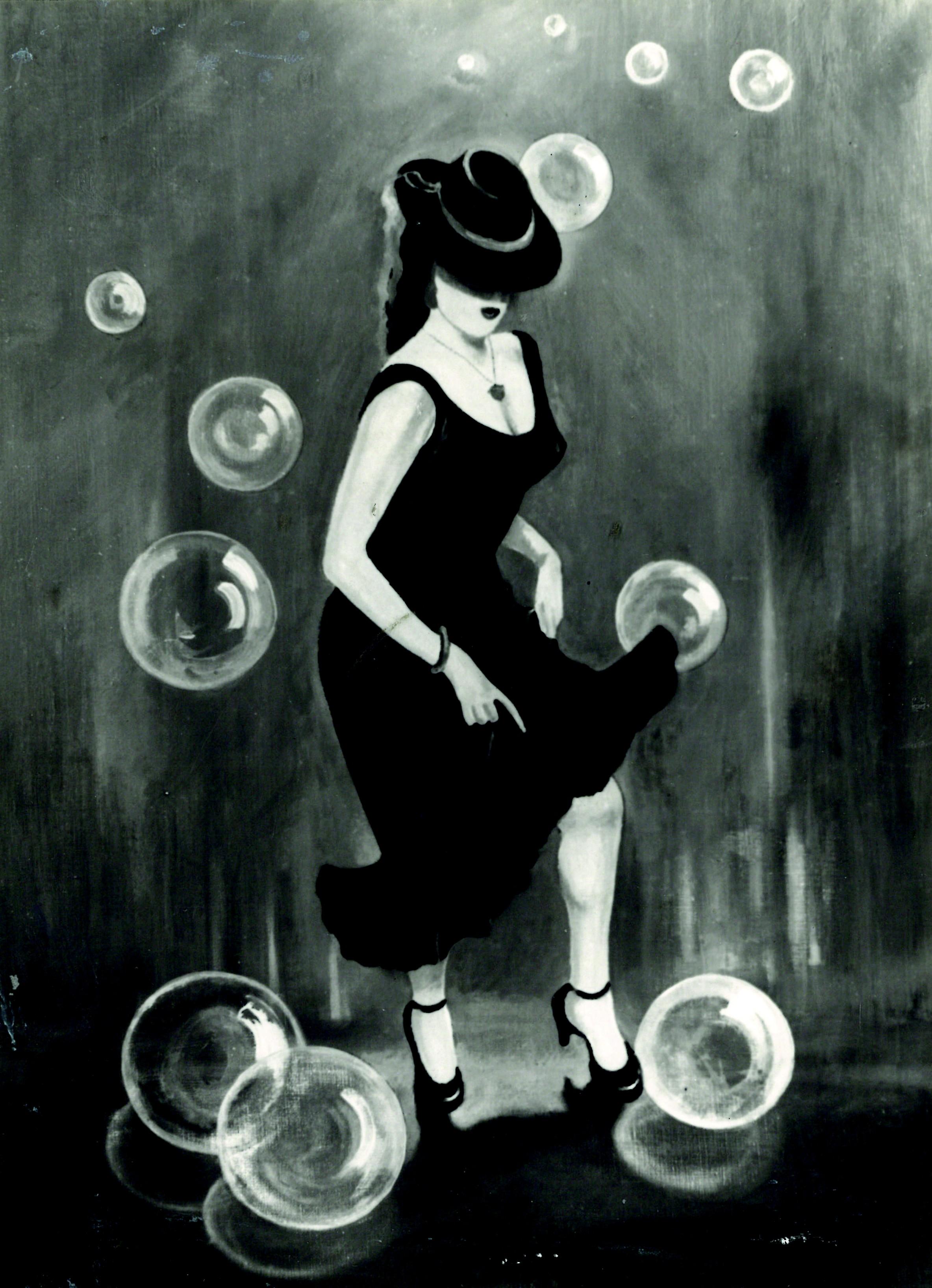 La femme aux bulles
