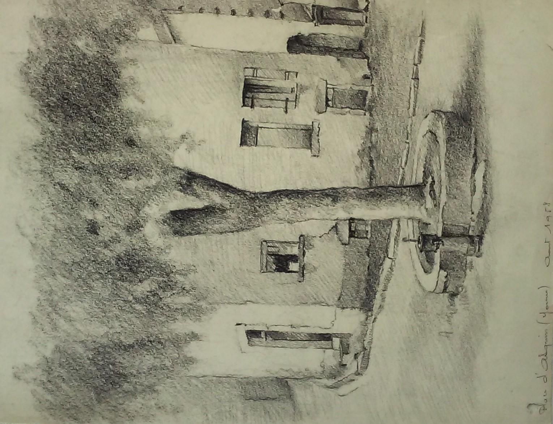 Place d'Asquins (Yonne) 1958
