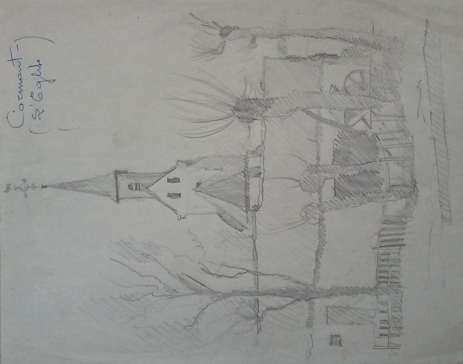 Cormont, l'église