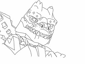 cragger cragger wolf tribe wolf tribe chima coloring pages