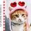 Thumbnail: Heart Headband for Cats - Crochet Pattern