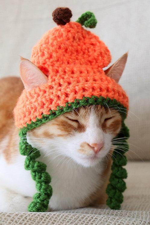 Pumpkin Hats for Cats