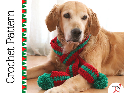 Dog Scarf Crochet Pattern