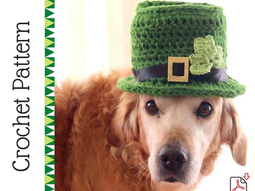 Leprechaun Dog Hat Crochet Pattern