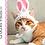 Thumbnail: Bunny Ear Cat Hat Crochet Pattern