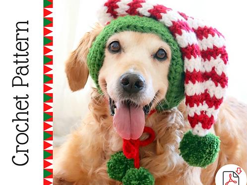 Elf Dog Hat Crochet Pattern