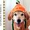 Thumbnail: Pumpkin Dog Hat Crochet Pattern