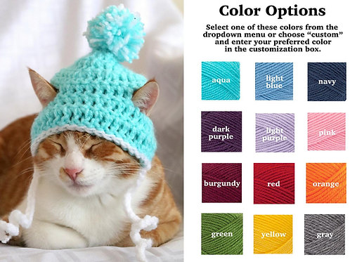 Beanie Hats for Cats