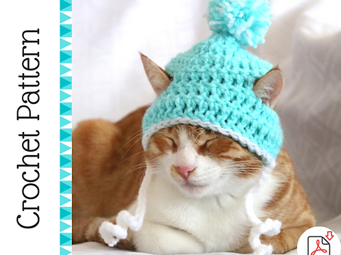 Cat Beanie Crochet Pattern