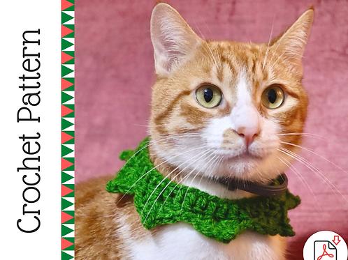 Cat Elf Collar Crochet Pattern