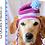 Thumbnail: Beanie Dog Hat Crochet Pattern