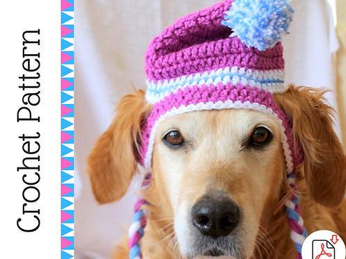 Beanie Dog Hat Crochet Pattern