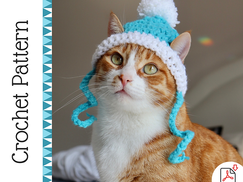 Cat Beanie Crochet Pattern
