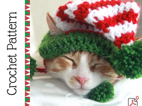 Elf Cat Hat Crochet Pattern