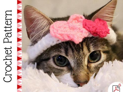 Heat Collar / Headband for Cats - Crochet Pattern