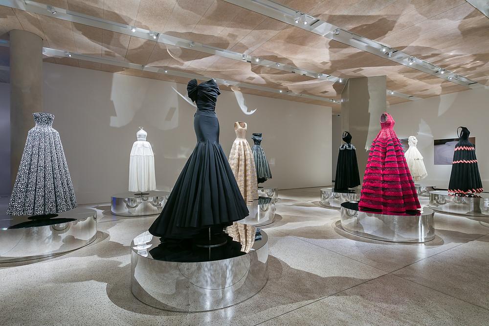 the Azzadine Alaia exhibit at London's Design Museum