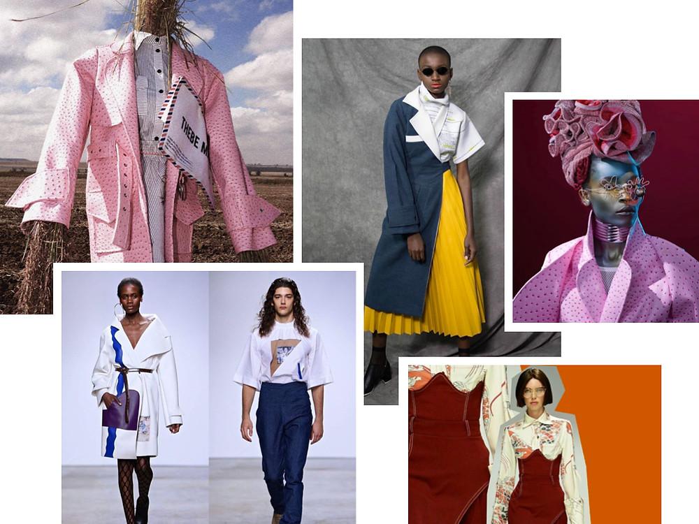Genderless fashion brand Thebe Magugu