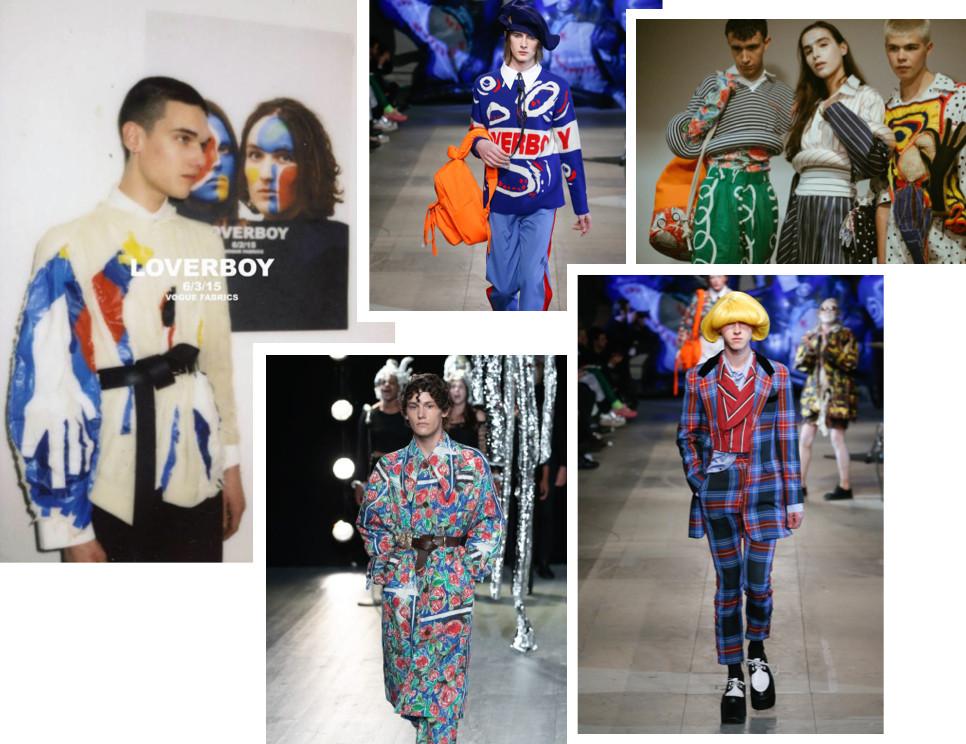 Loverboy fashion label by Charles Jeffrey