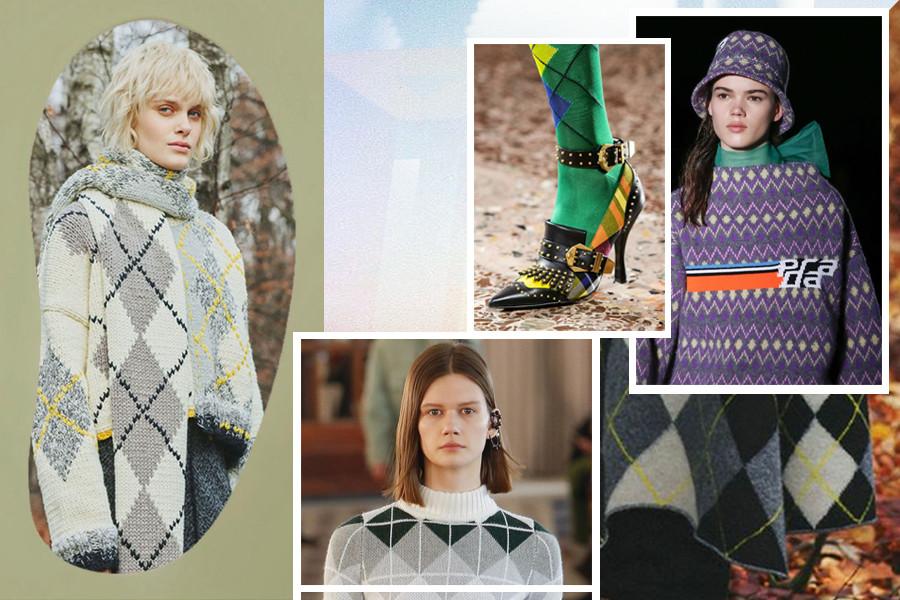 Fall 2018 Argyle prints