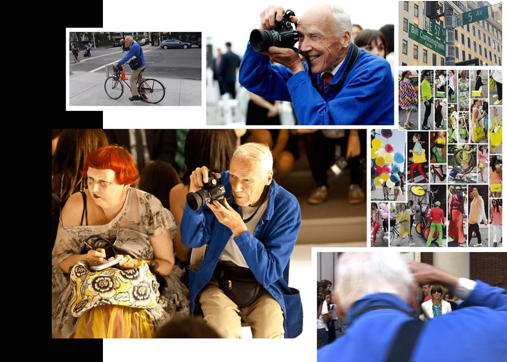 iconic street style photographer Bill Cunningham