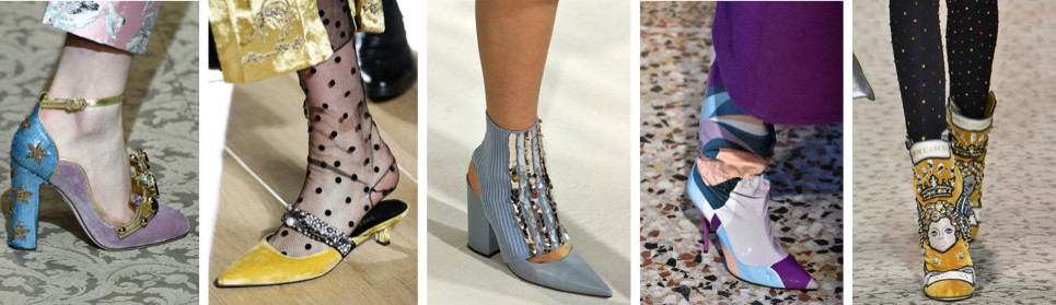 Shoes/heels Fall 2018 trend