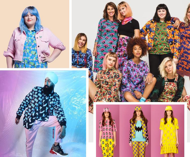 Haley Elsaesser unisex fashion label