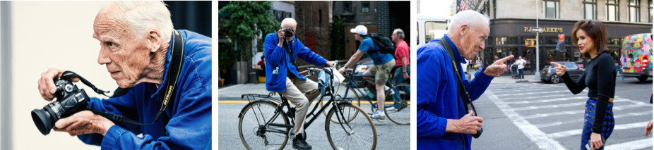 Bill Cunningham pioneer of street style  fashion photography