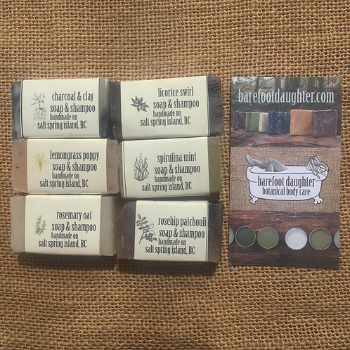 Mini Soap and Shampoo Bars