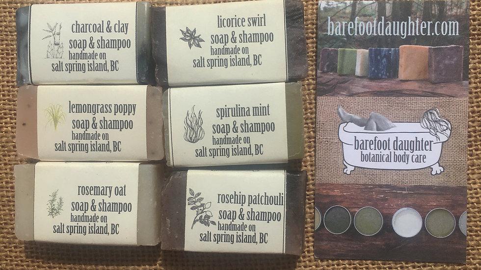 Mini Soap and Shampoo Bars