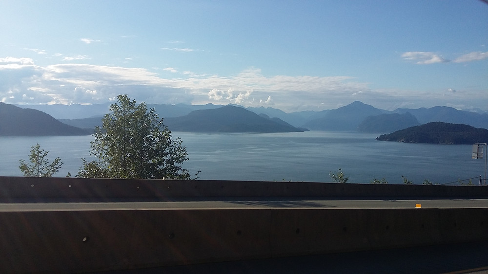 sea to sky highway view