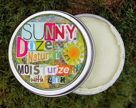 sunny daze: natural moisturizer with zinc