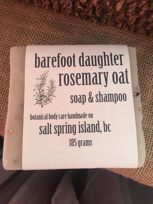 Rosemary Oat Soap & Shampoo