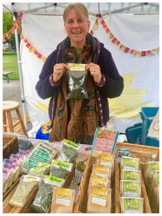 "Interview with Saturday Market Vendor Claire Ryder aka ""Kale Chip Claire"""