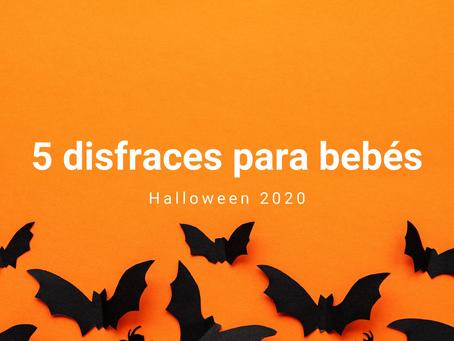5 Disfraces para bebé en este Halloween 2020