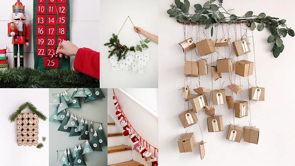 Calendario de adviento: actividades familiares navideñas