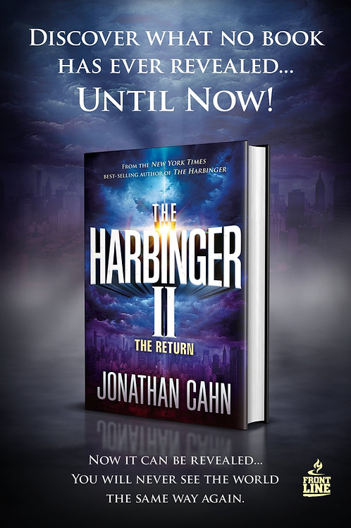 "Jonathan Cahn, ""The Harbinger II: The Return"" Reveals Links in the Pandemic"