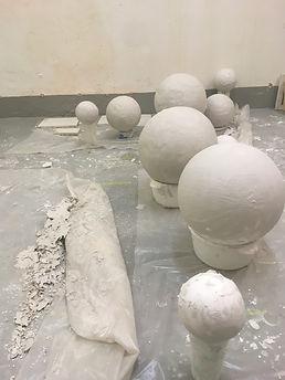 Sculpture making. Plaster.JPG