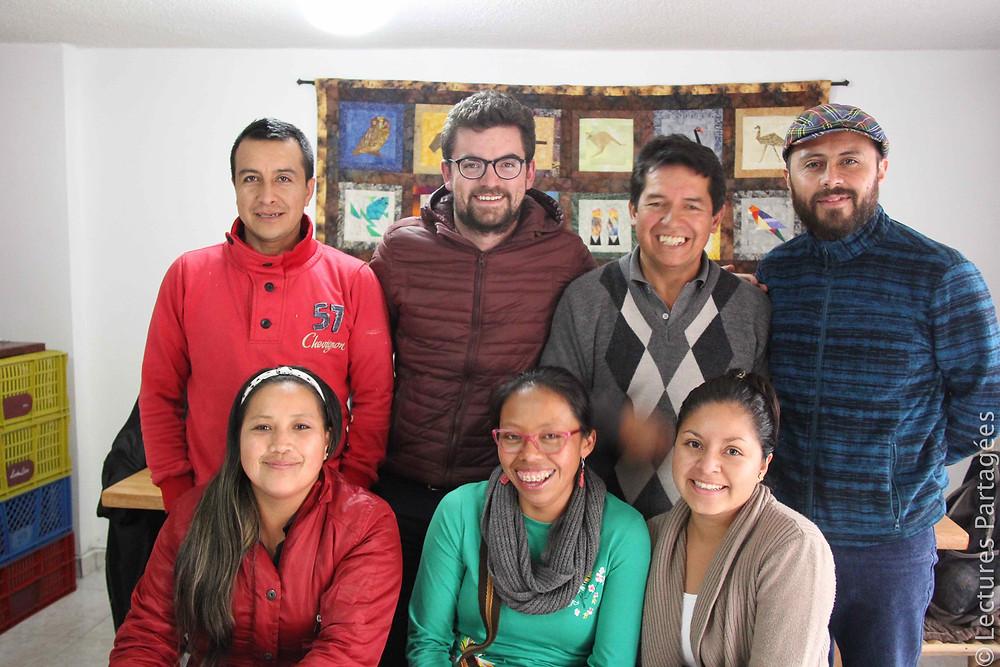 L'équipe de coordination de La Tulpa